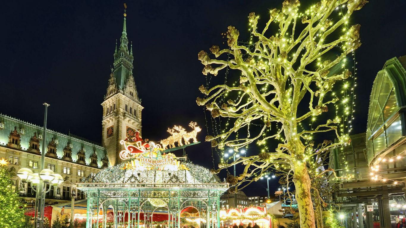 Verspielte Traumwelt: Hamburg