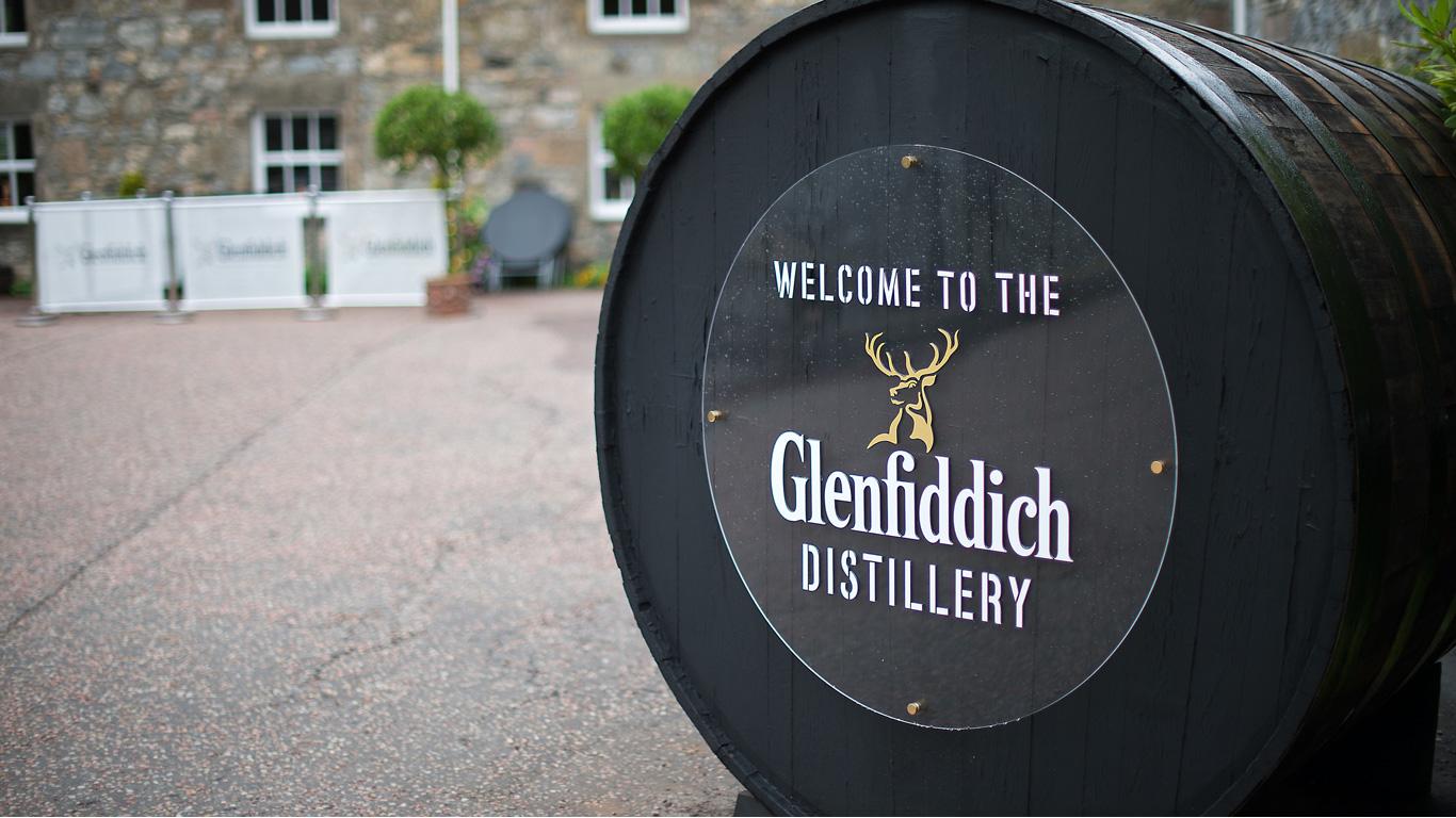 The Glenlivet und Glenfiddich
