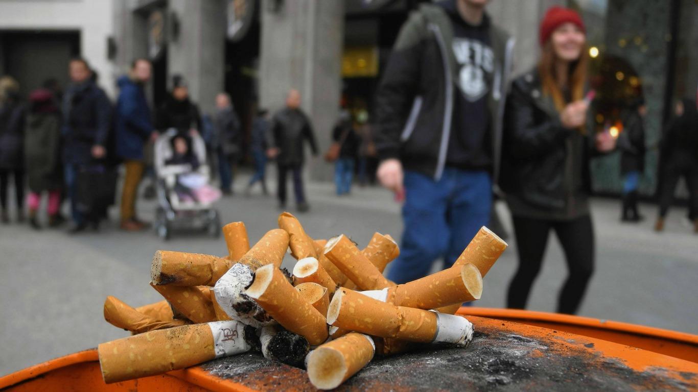 Riskantes Rauchverhalten