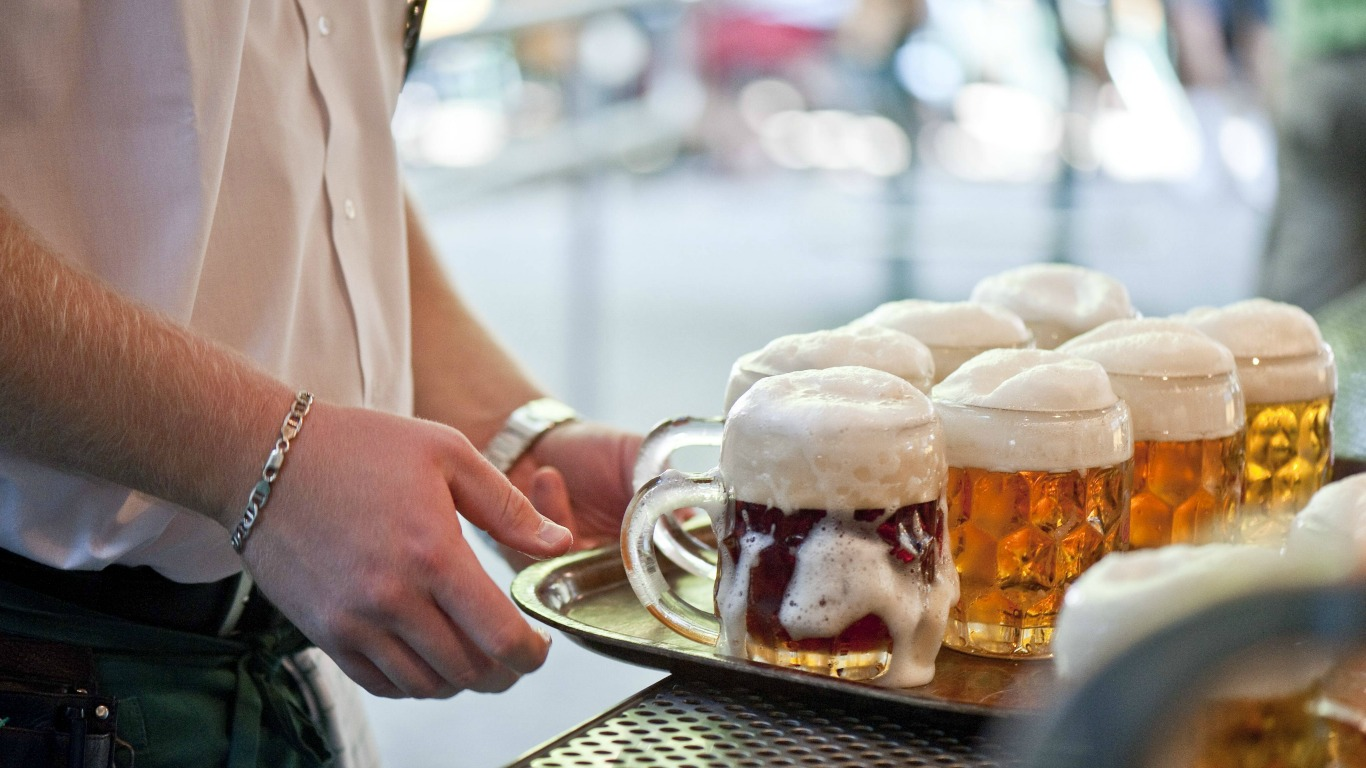 Alkoholkonsum sinkt