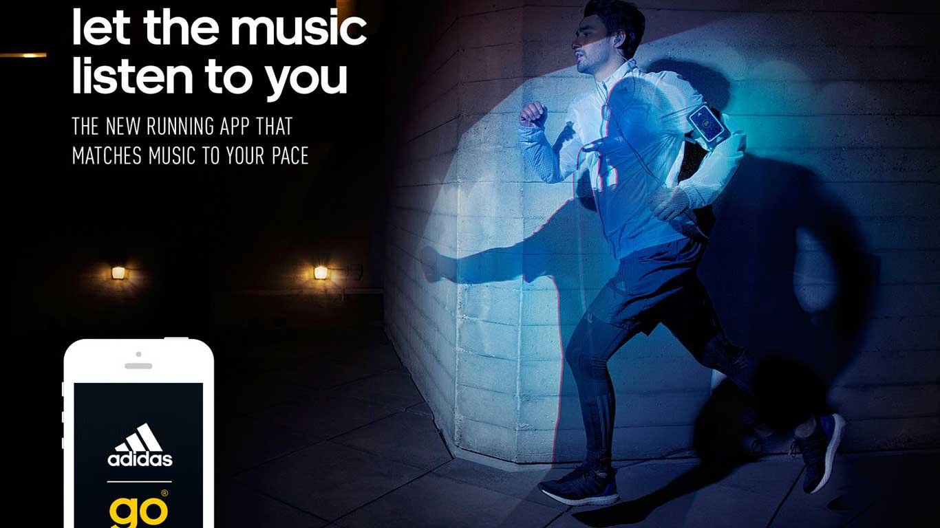 Die App zur Pulsuhr: Adidas Go