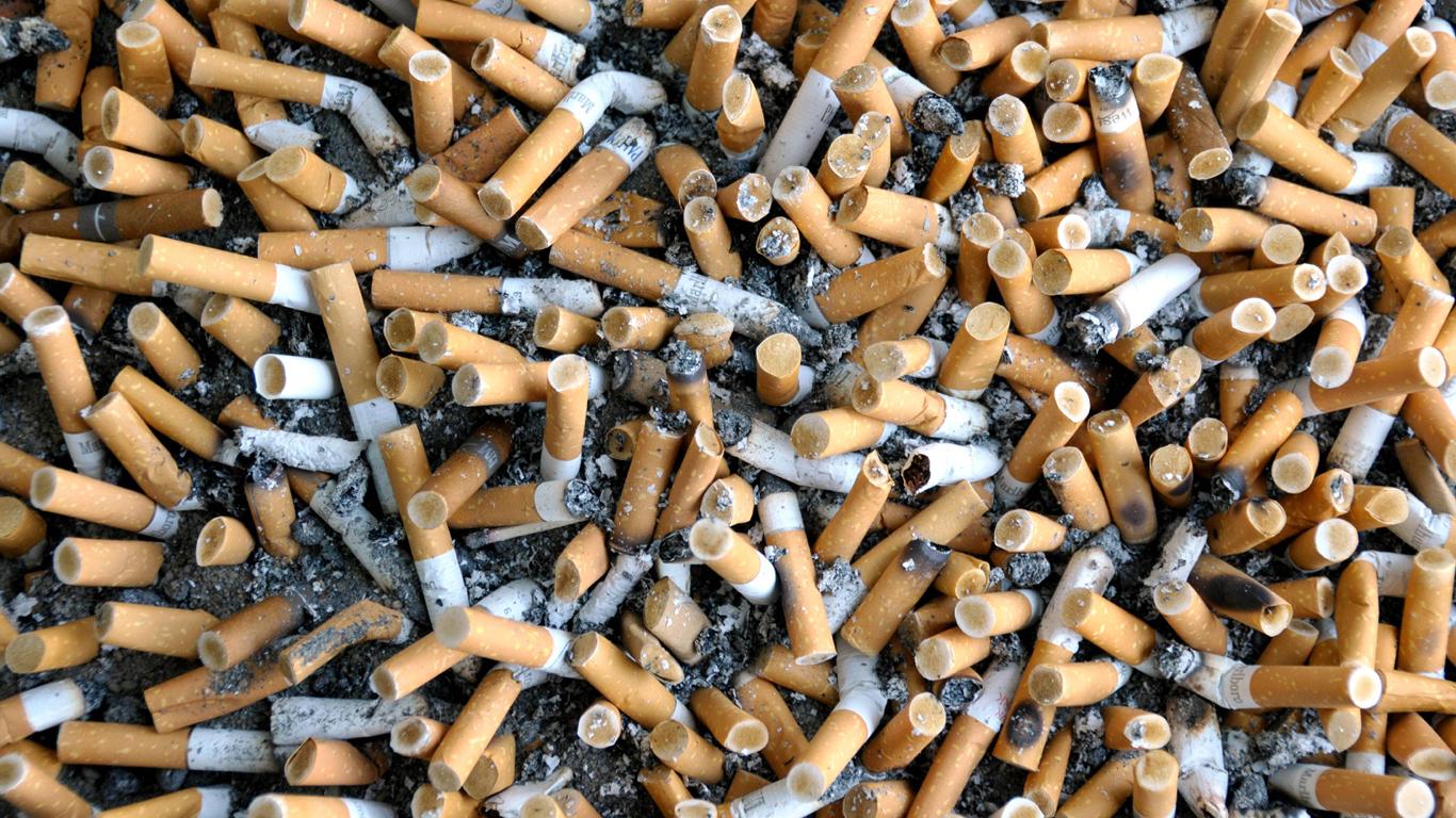 Nikotin ade