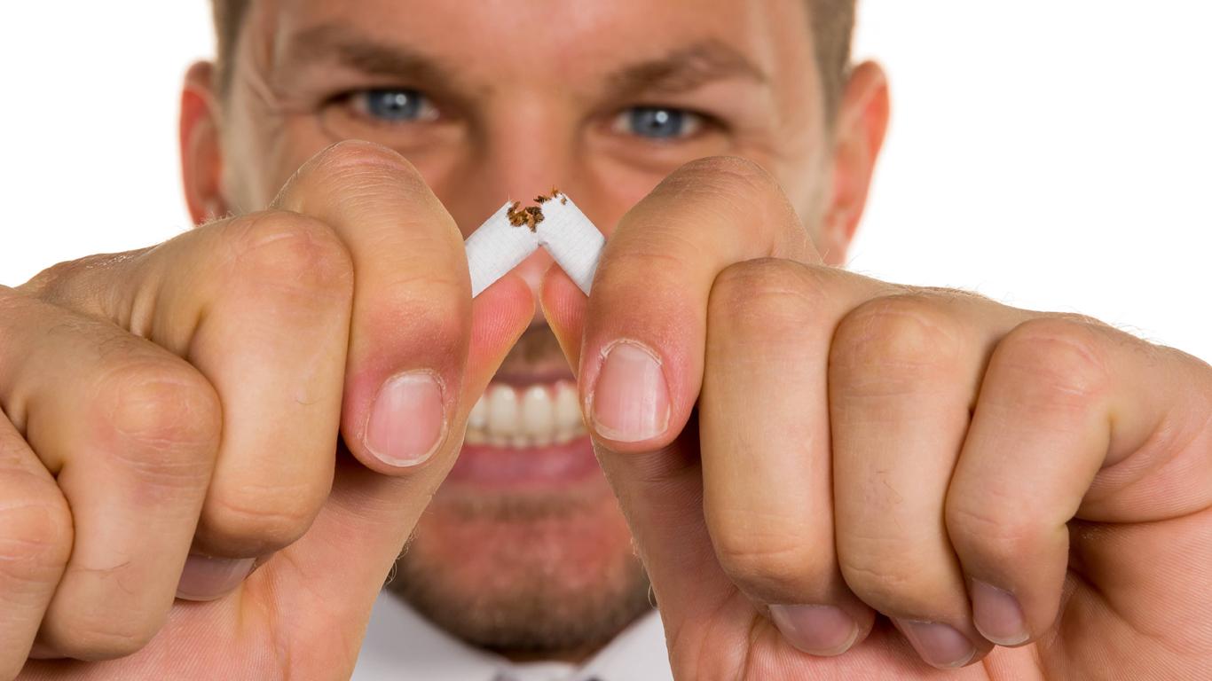 Nichtraucher aufgeholt