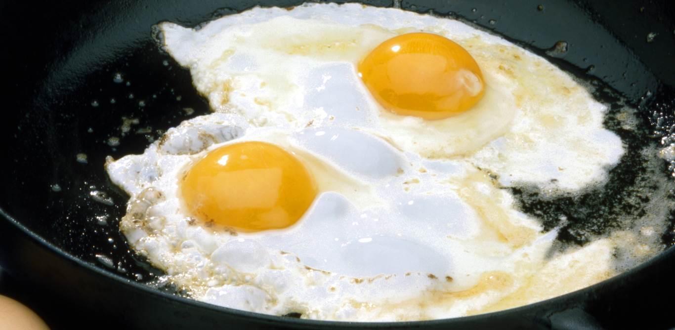 1. Der Arzt sagt: Nie mehr als zwei Eier pro Woche, sonst steigt der Cholesterinspiegel