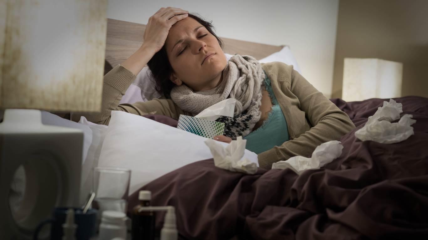 22. Der Arzt sagt: Bei Grippe hilft vor allem Aspirin
