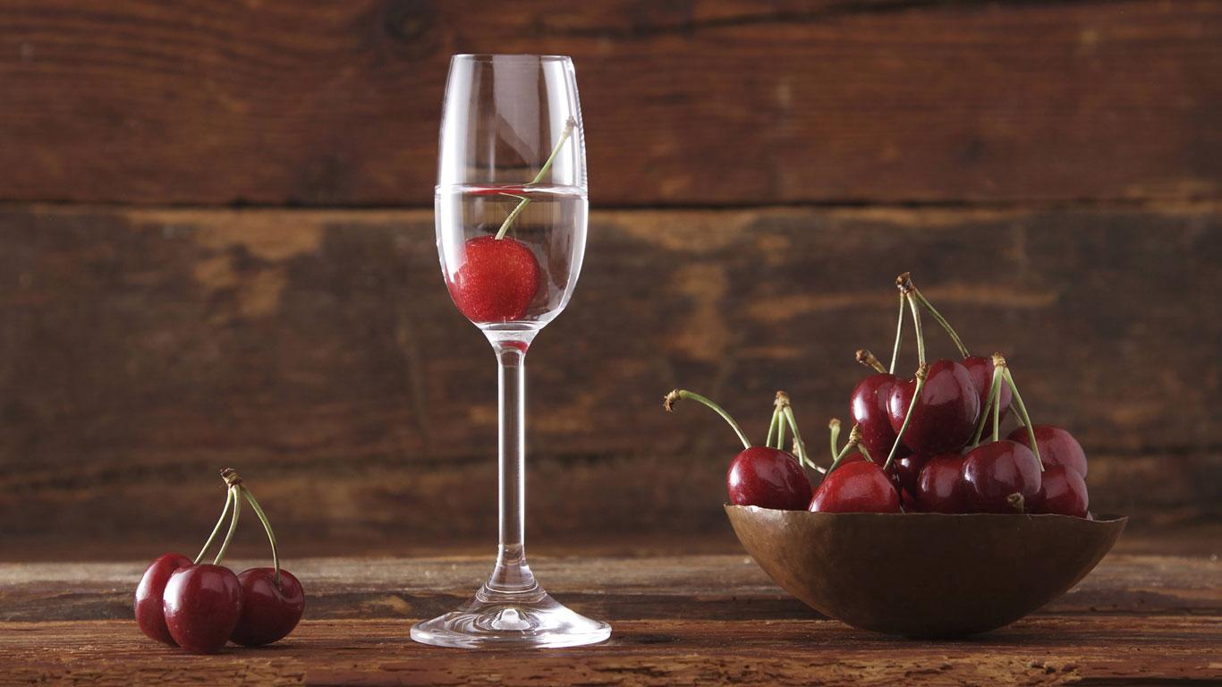 Schnaps hilft bei der Verdauung