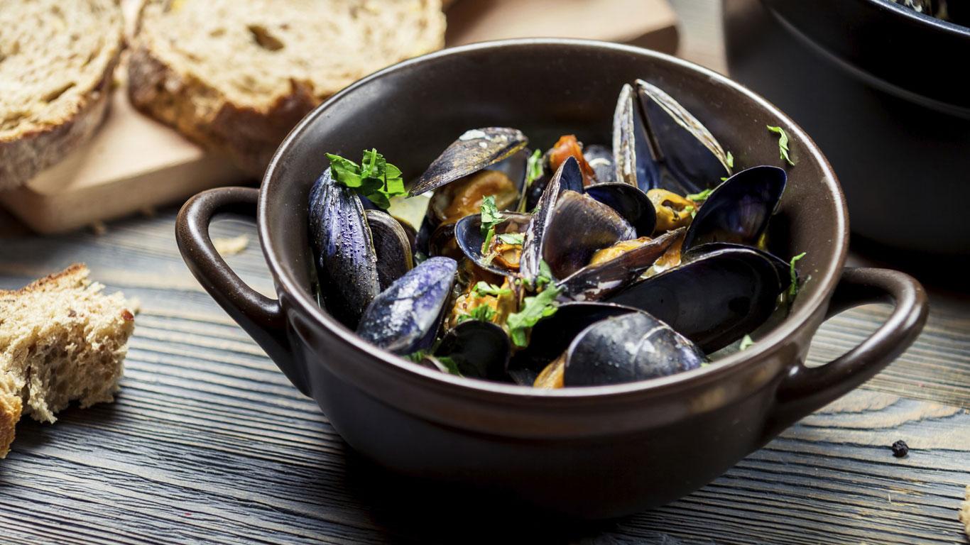 Meeresfrüchte sollte man nur in Monaten mit einem R essen