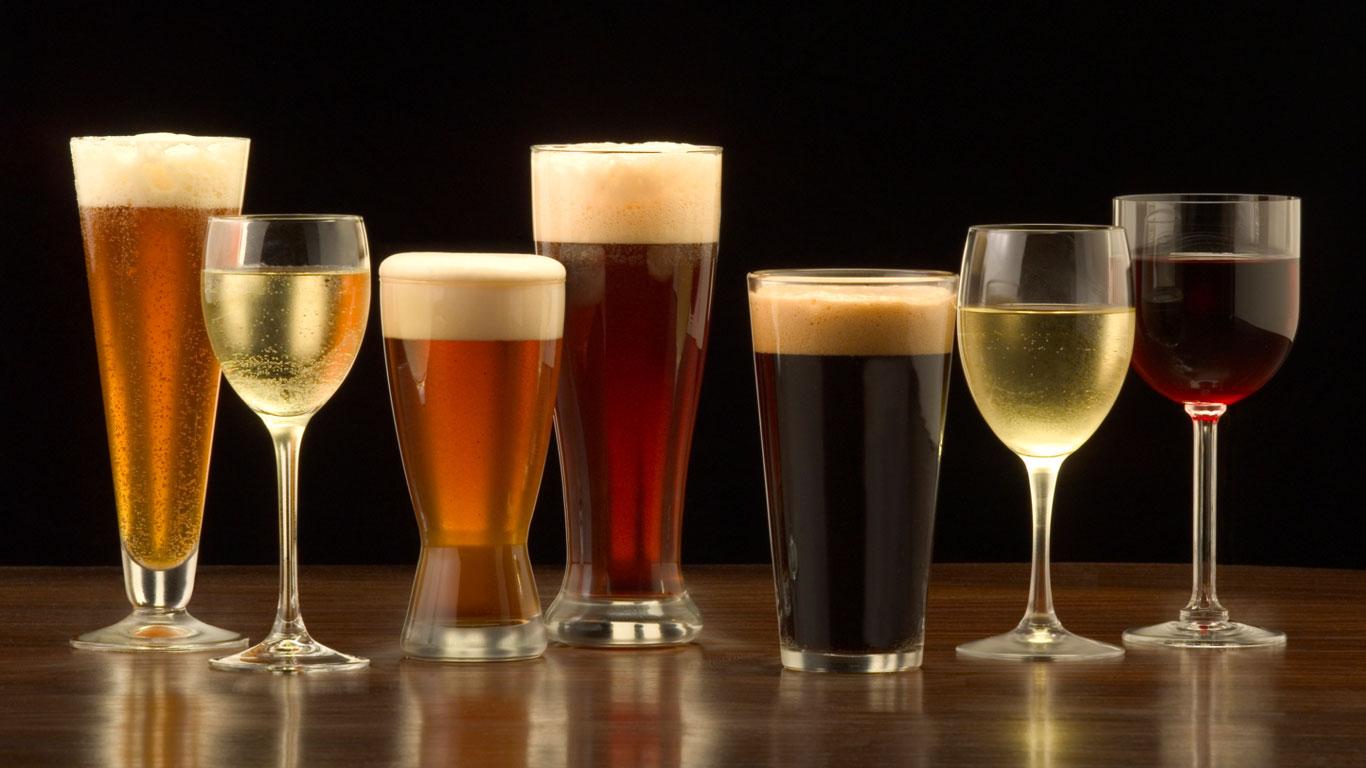 Kein Bier auf Wein trinken