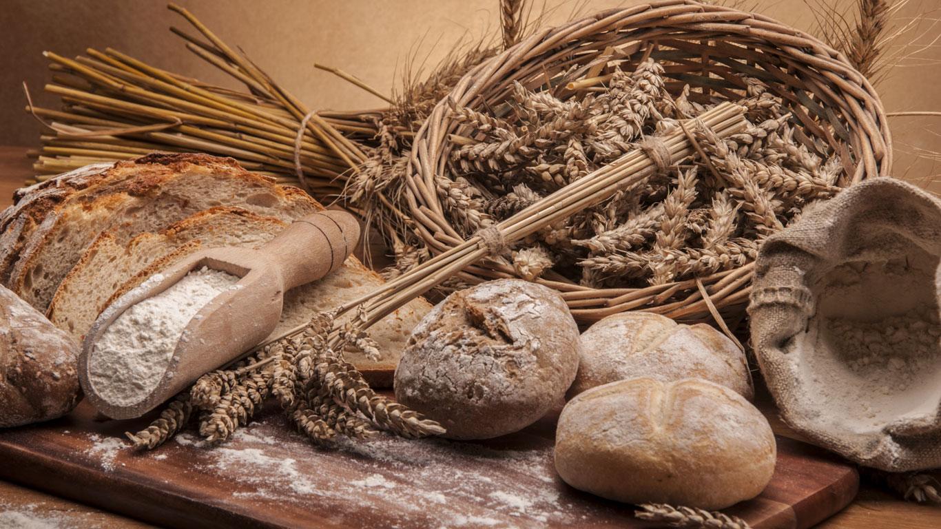 Dinkelbrot hat weniger Gluten als Weizenbrot