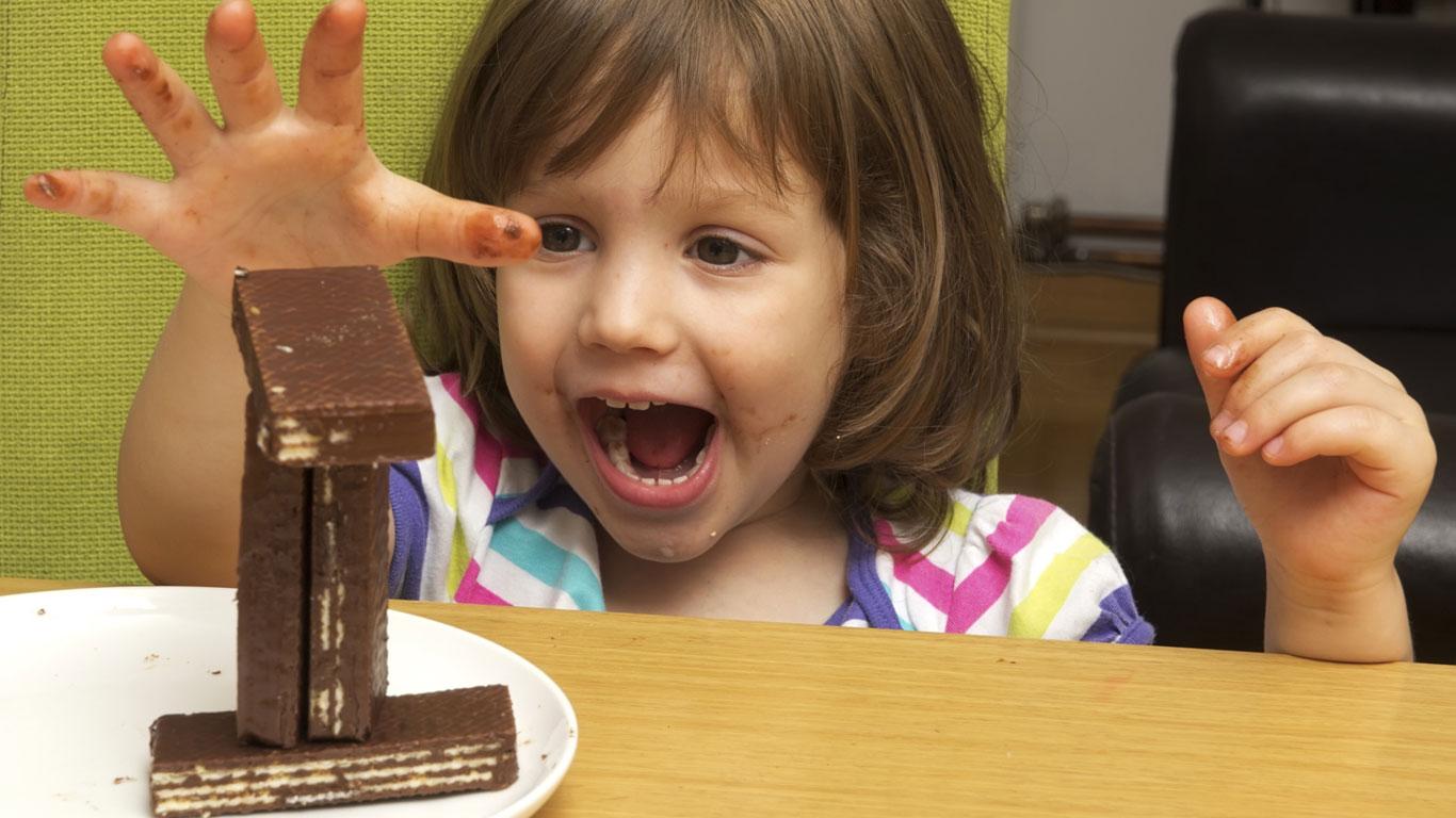 Keine Süßigkeiten für hyperaktive Kinder