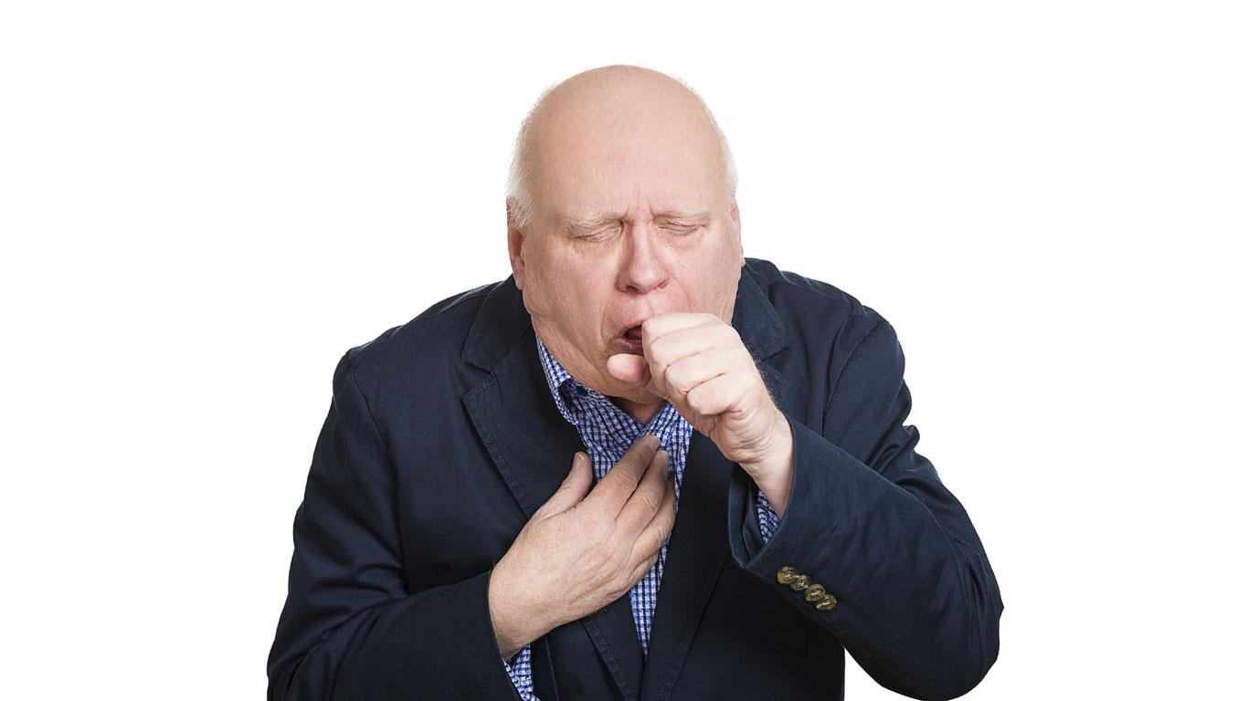Etwa die Hälfte der Raucher entwickelt chronischen Husten