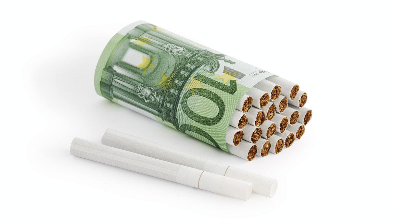 Rauchen kostet viel Zeit und Geld