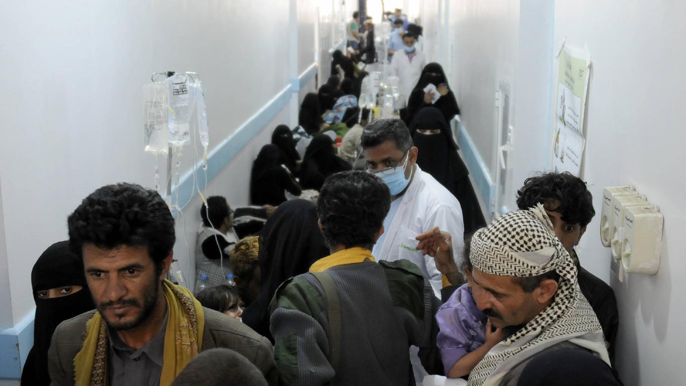 Cholera: Schlechtes Wasser kann töten