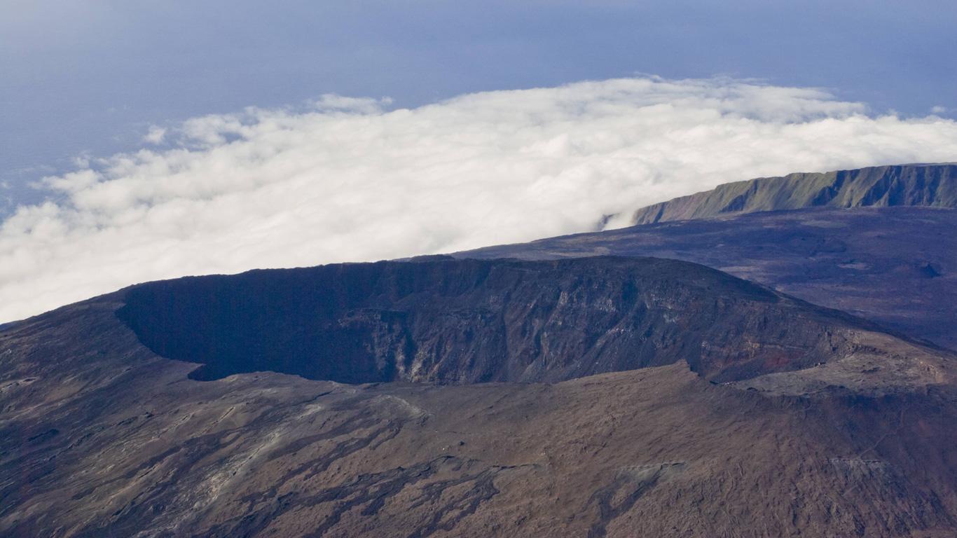 Piton de la Fournaise, La Réunion