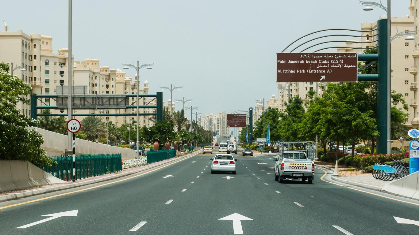 Abu Dhabi und Vereinigte Arabischen Emirate
