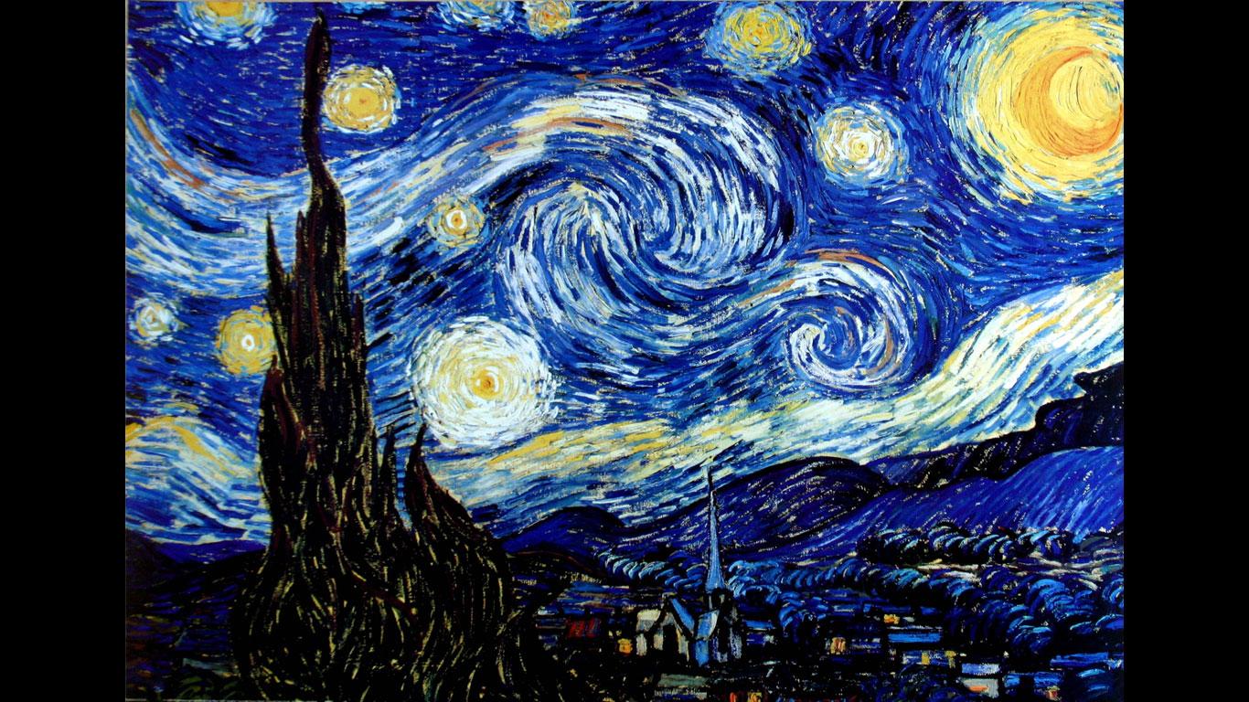 Van Gogh, Dali, da Vinci: Hier stehen die berühmtesten.