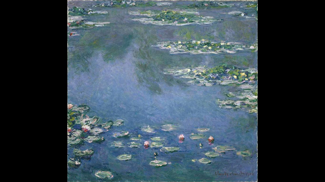 """Art Institute of Chicago – """"Die Seerosen"""" von Claude Monet"""