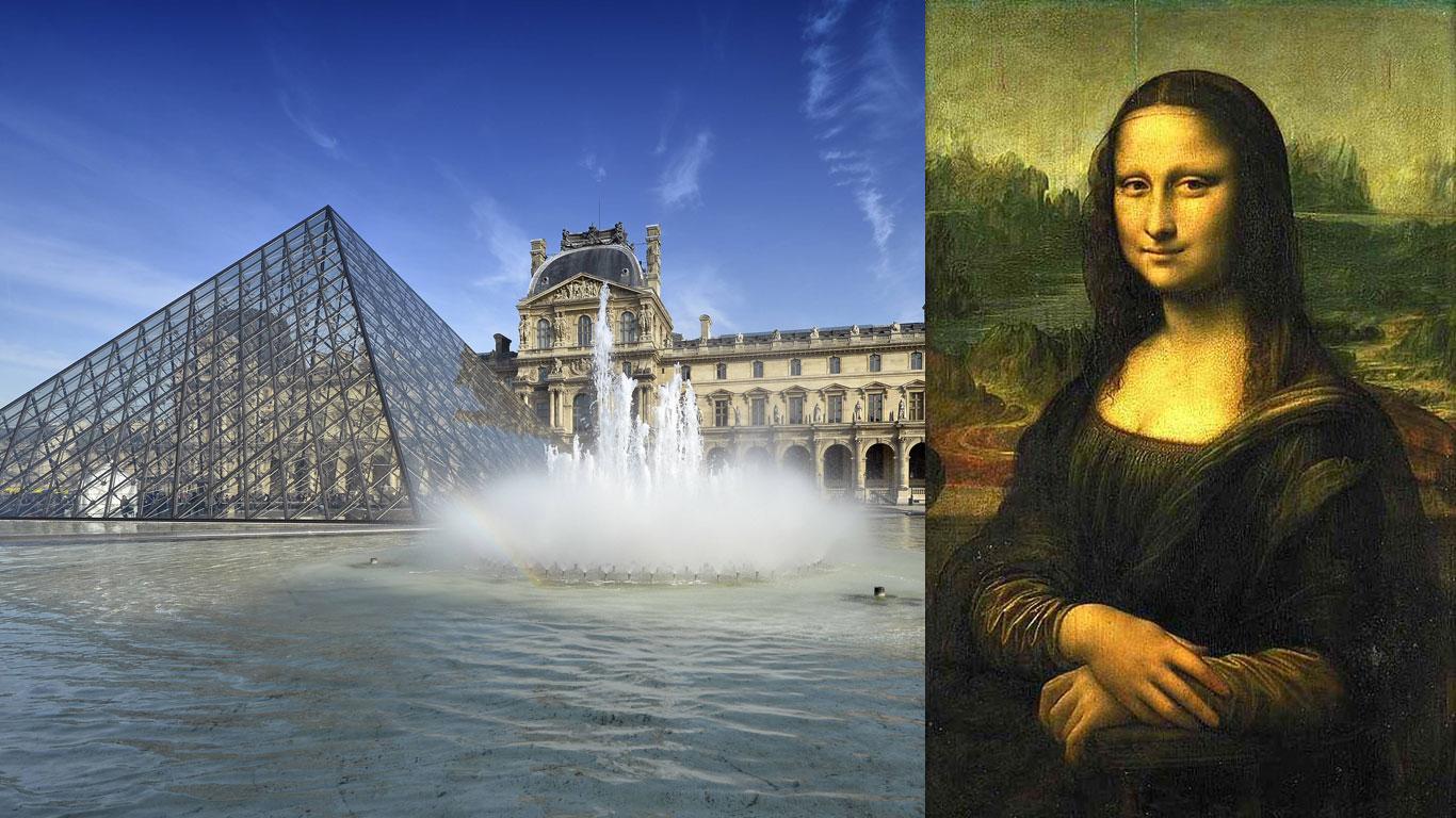 """Louvre, Paris – """"Mona Lisa"""" von Leonardo da Vinci"""