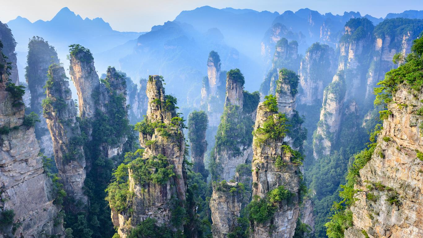 Zhangjiajie: Wenn Fantasie real wird