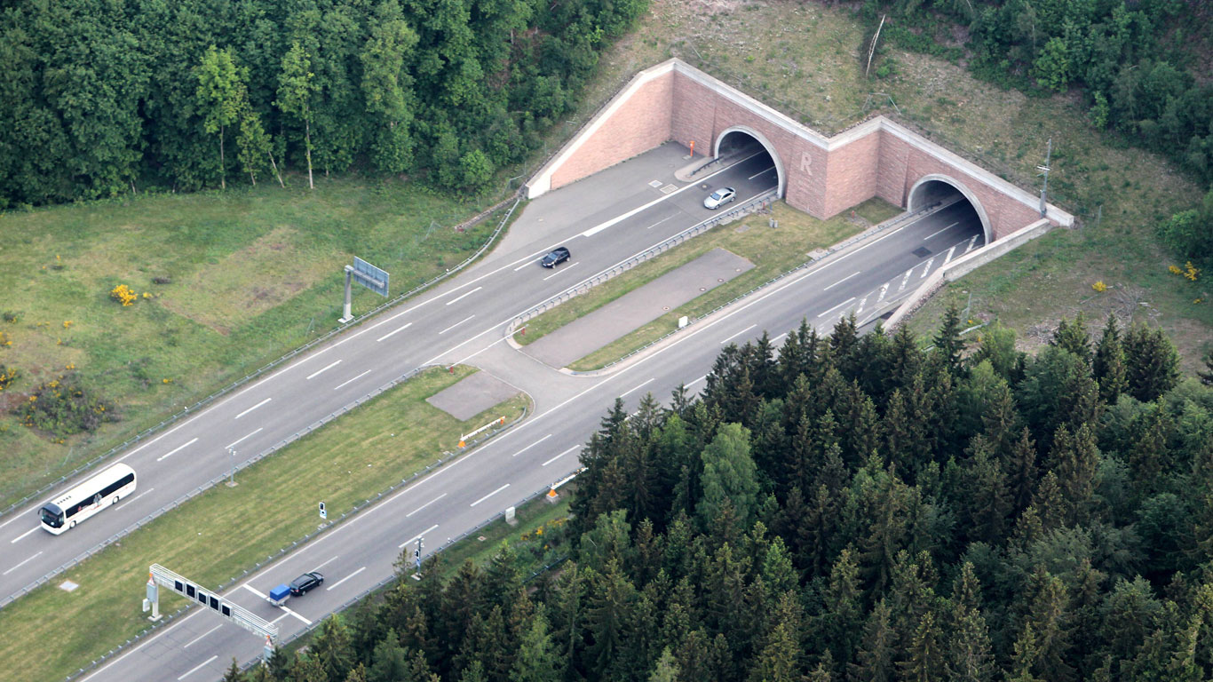 Der längste Tunnel