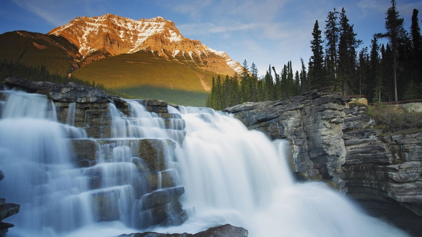 Athabasca Falls, Jasper Nationalpark, Alberta, Canada