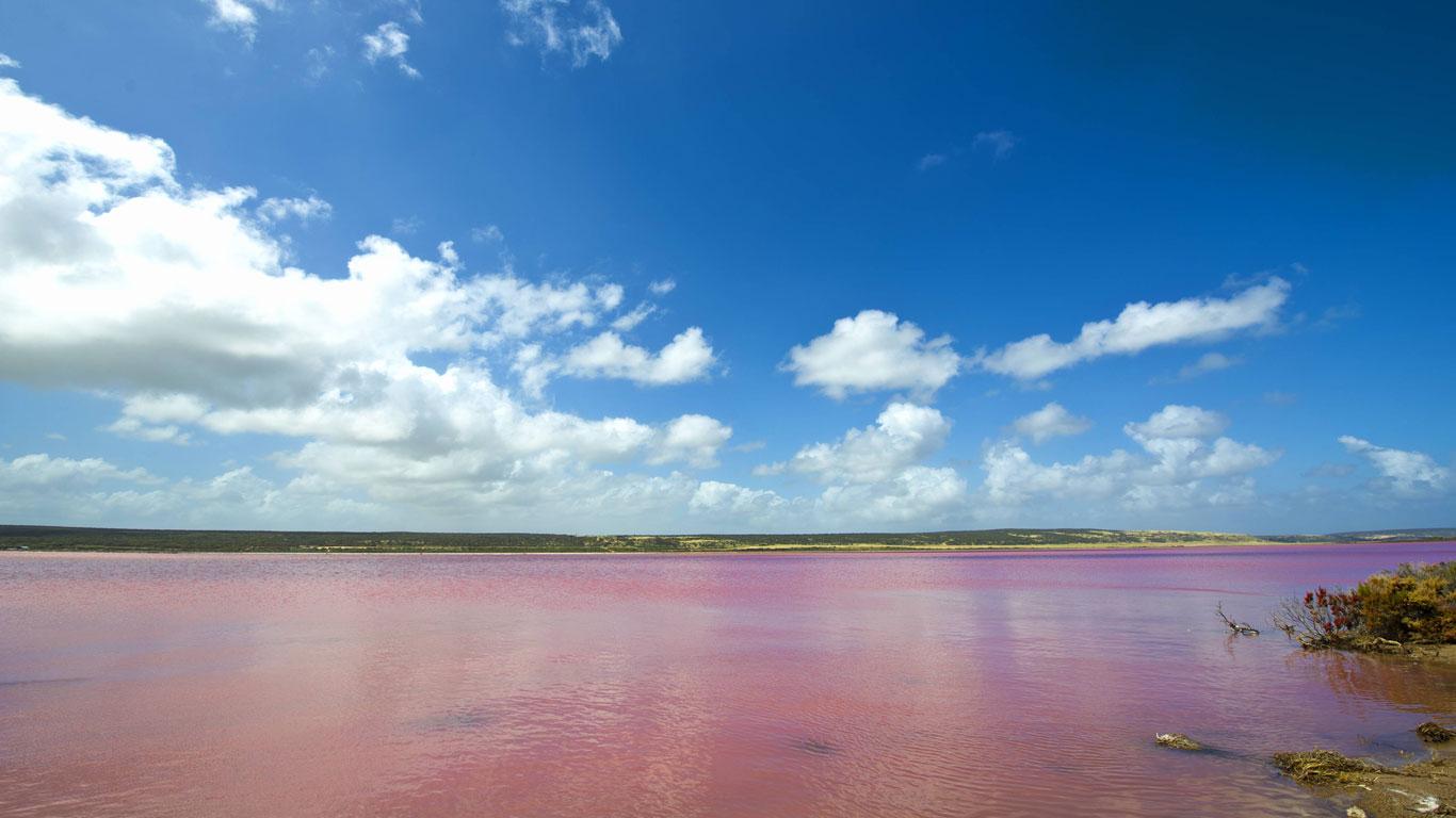 Lake Hillier, Australien