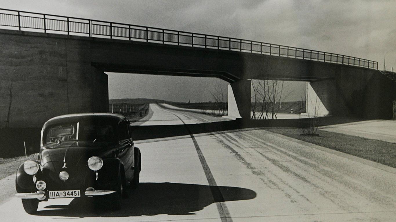 Geisterfahrer – Vergessene Autobahn der Nazis; Bad Brückenau (Bayern)