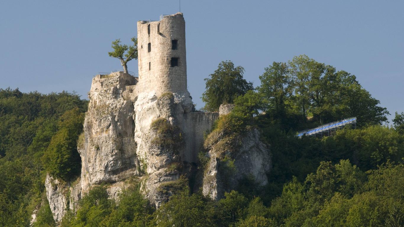 Wo einst die Riesen residierten – Burgruine Neideck; Wiesenttal (Bayern)