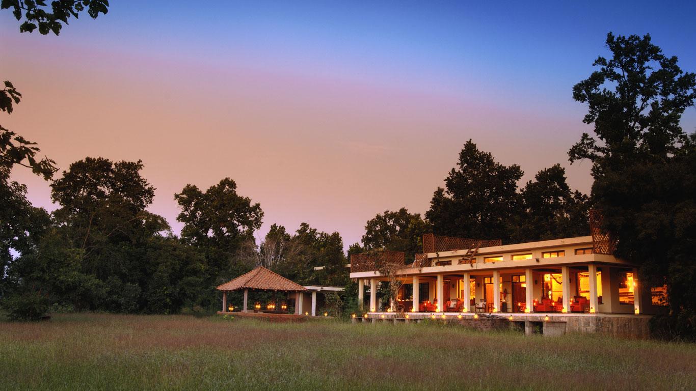 Urwald-Luxus auf dem Subkontinent – im Herzen Indiens