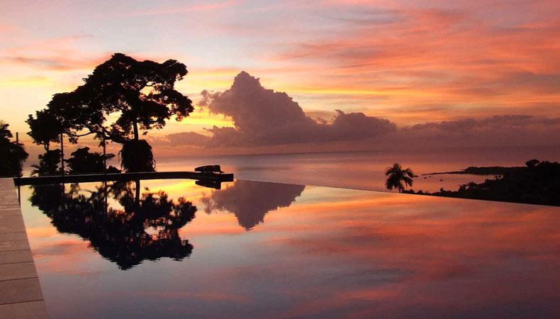 Dusche mit Dschungelblick – Mission Beach in Queensland/Australien