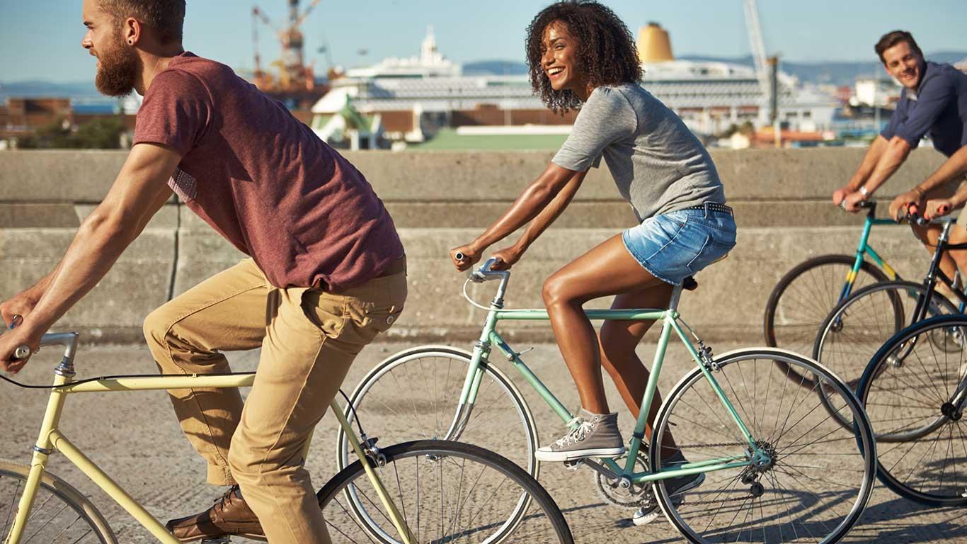 Fahrradfreundliche Metropolen