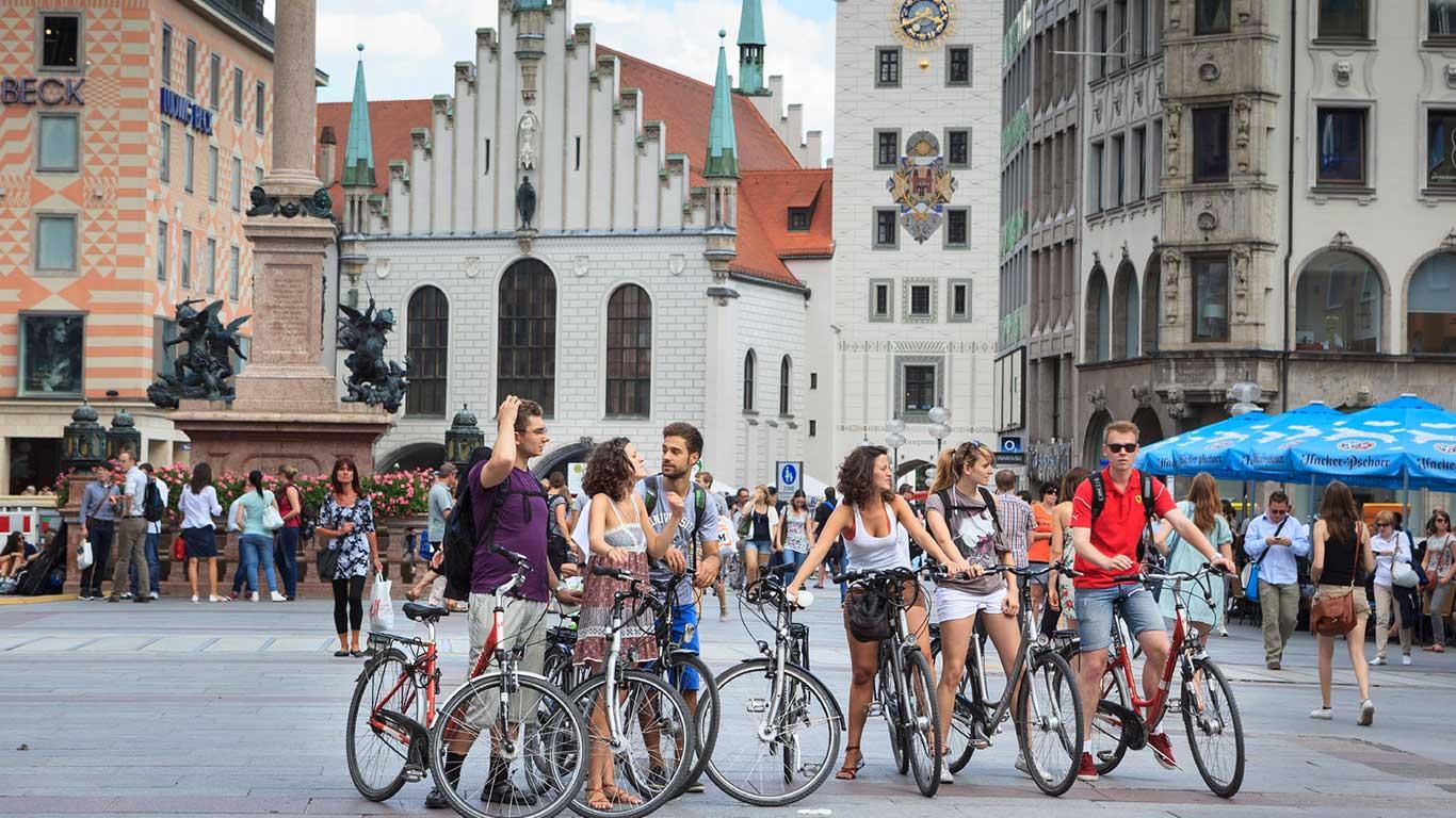Radl-Hauptstadt: München