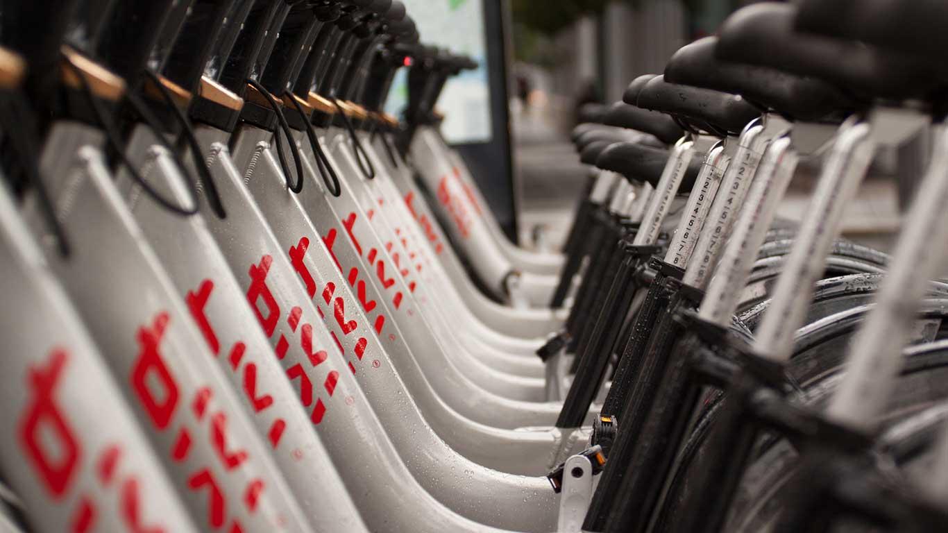 Bixi-Fahrradleihsystem: Montreal