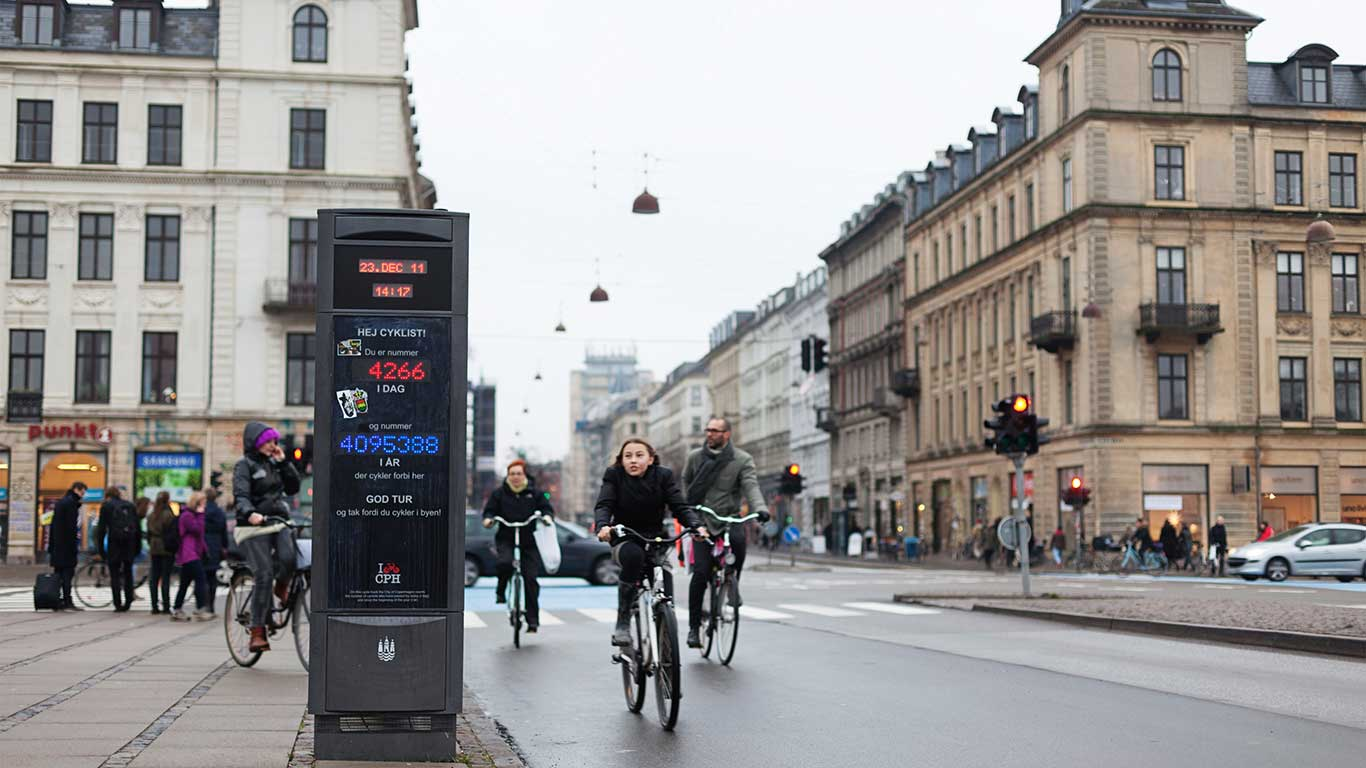 Beste Rad-Infrastruktur: Kopenhagen
