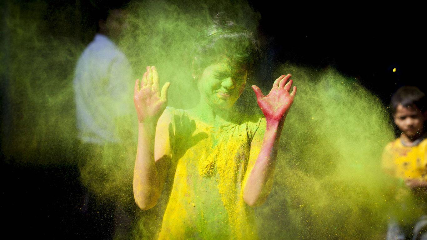Farbenfest Holi