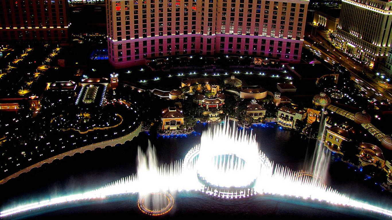 Vegas aus der Luft