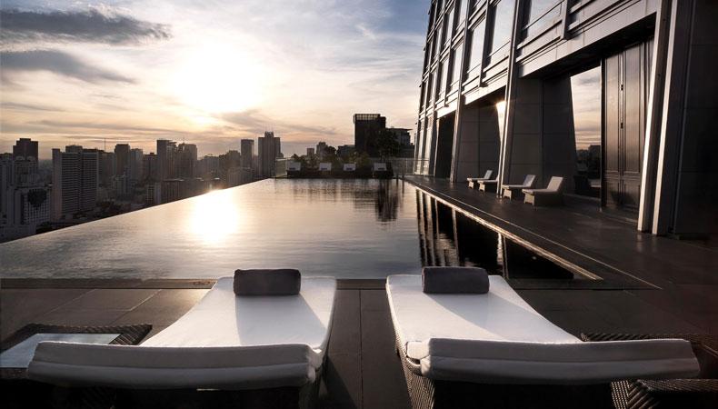 Bangkok: Über den Dächern der Stadt