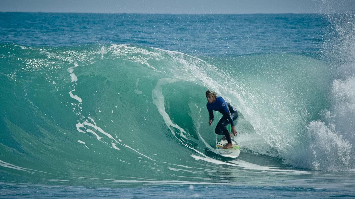Das Surf-Paradies