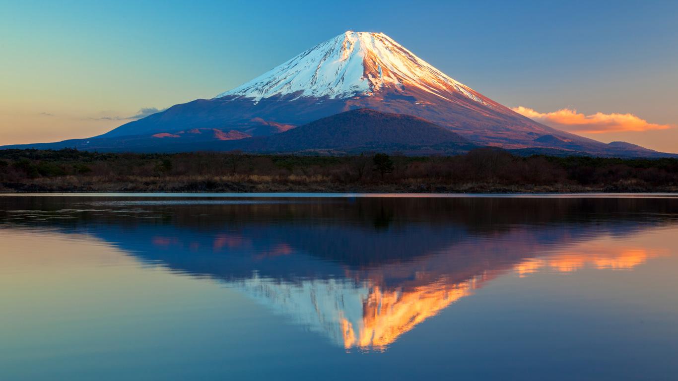 Der Mount Fuji – Wahrzeichen Japans