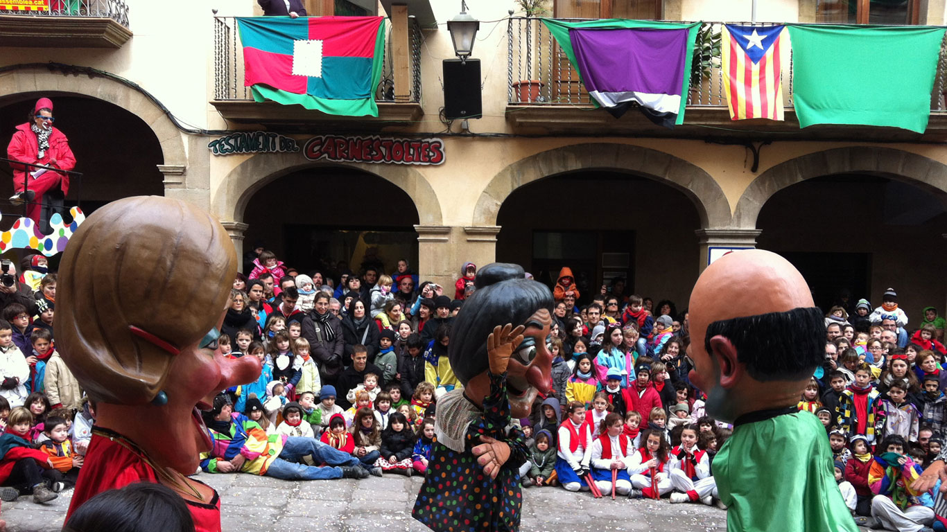Solsona: Faschingspioniere unter den Spaniern