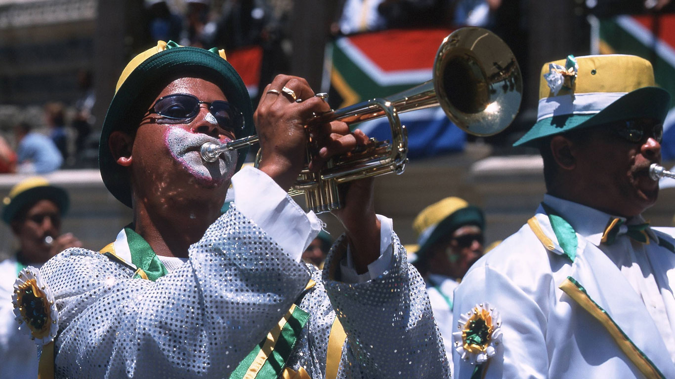 Buntes Treiben in Kapstadt
