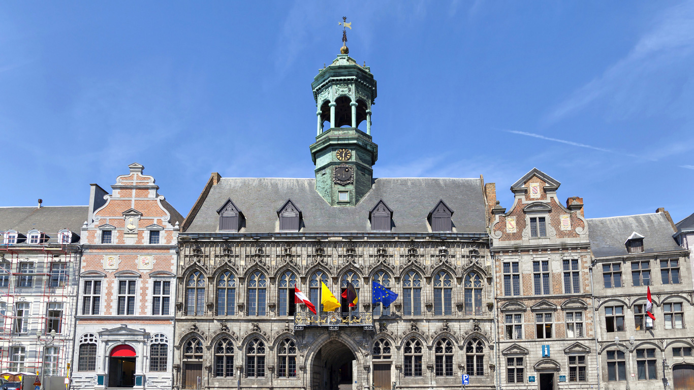 Mons, Belgien – Kulturhauptstadt 2015