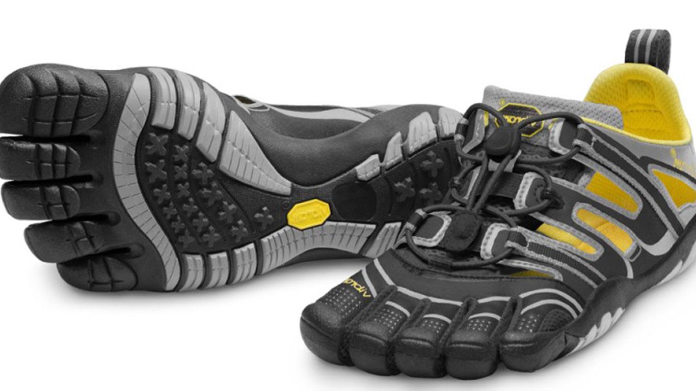 Zehenlatschen fürs Barfußlaufen
