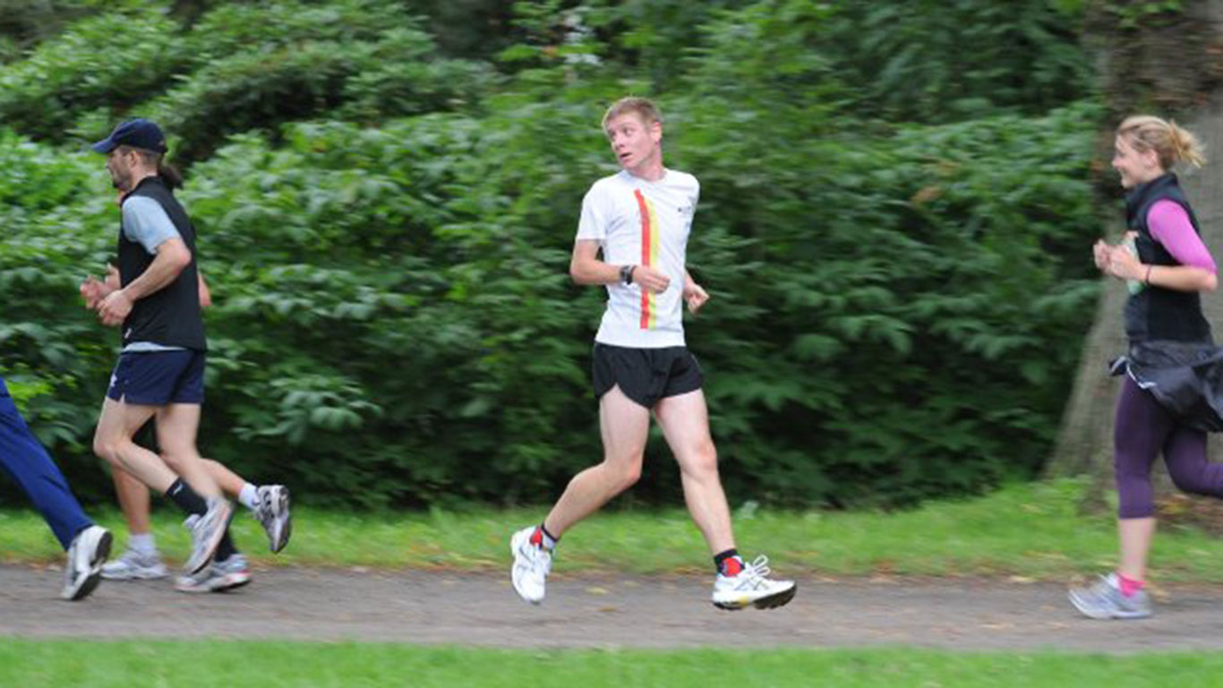 Nur nicht die Orientierung verlieren: Rückwärtslaufen oder Retro Running