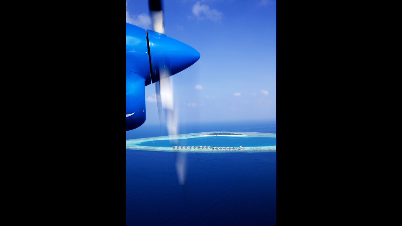 Mit dem Wasserflugzeug ins Paradies