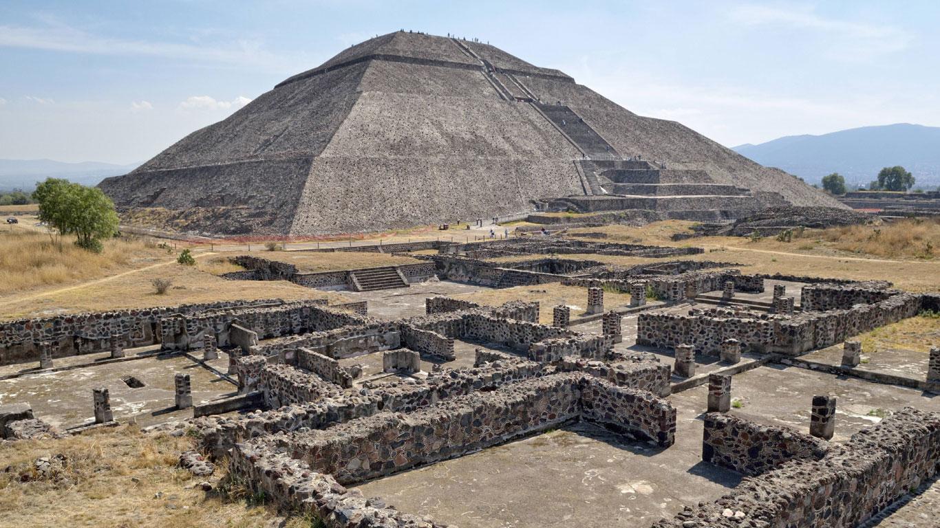 Die Pyramiden von Teotihuacán