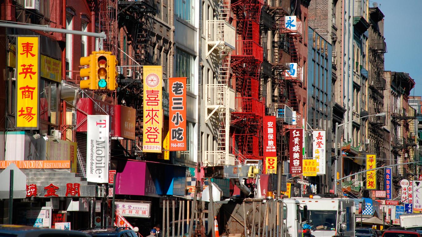 China mitten in Queens
