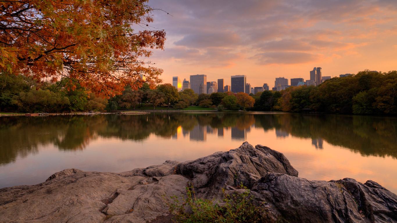 Der Central Park als Touristenmagnet
