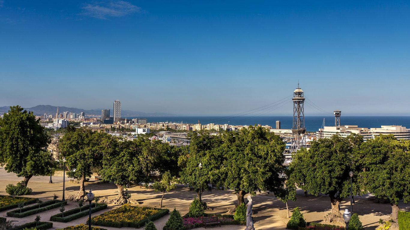Barcelona: Über den Dächern der Stadt