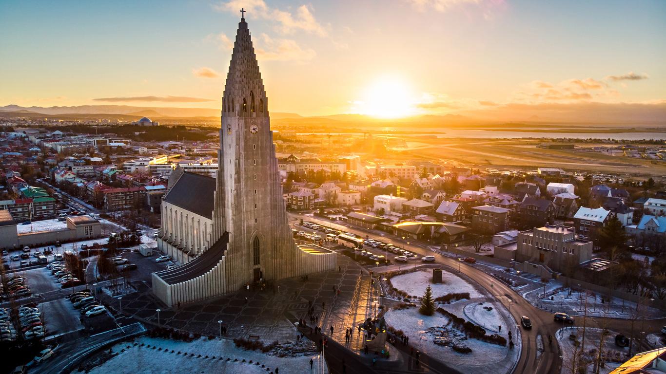 Die Hauptstadt Reykjavik
